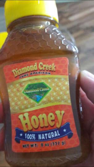 钻石小溪 天然成熟百花蜜  孕妇可食蜂蜜227g 美国进口 晒单图