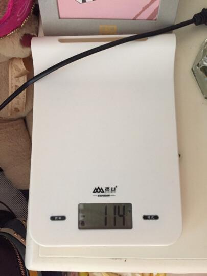 香山厨房秤高精度可悬挂烘焙秤食物称EK816(牛奶白) 晒单图