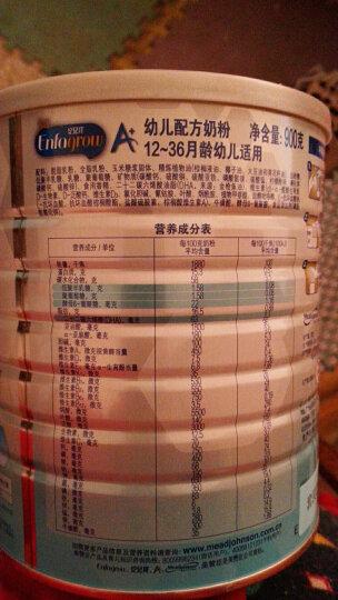 美赞臣安儿宝A+荷兰版幼儿配方奶粉 3段(12-36月龄幼儿适用) 900克*2礼盒装 原装原罐荷兰进口 晒单图