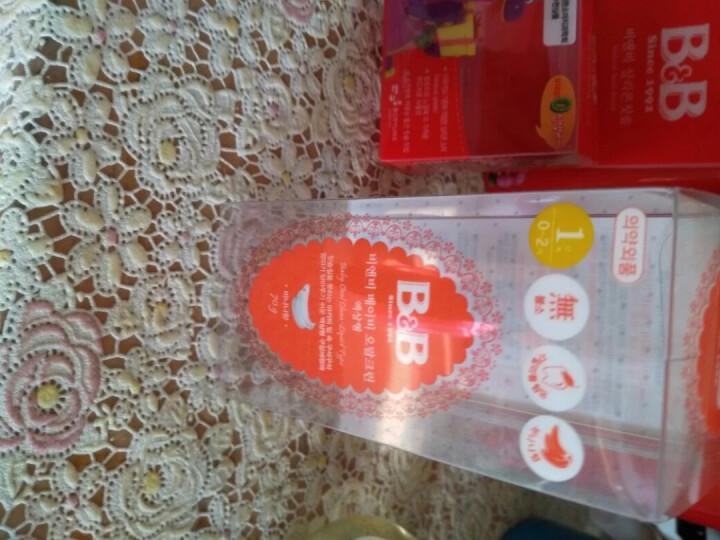 保宁(B&B)新生儿硅胶指套牙刷 宝宝指套手指牙刷 适合0-2岁 晒单图