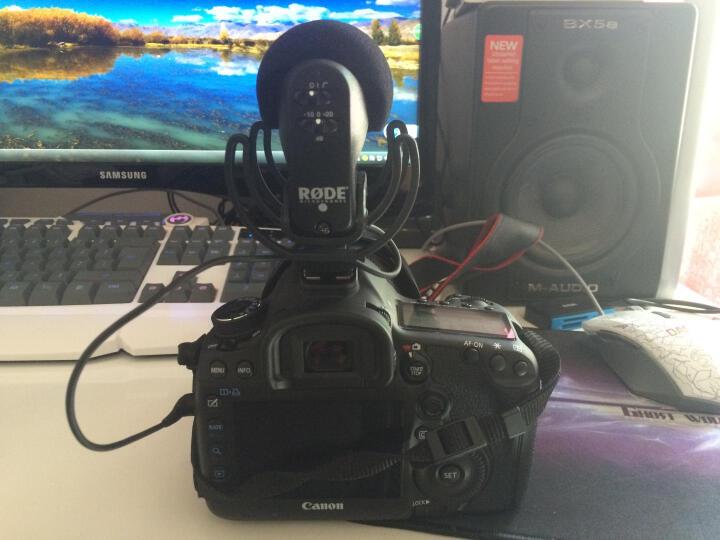 罗德 RODE videomic pro R VMP  5D A7 单反微单 话筒 麦克风 标配+原厂毛毛罩 晒单图