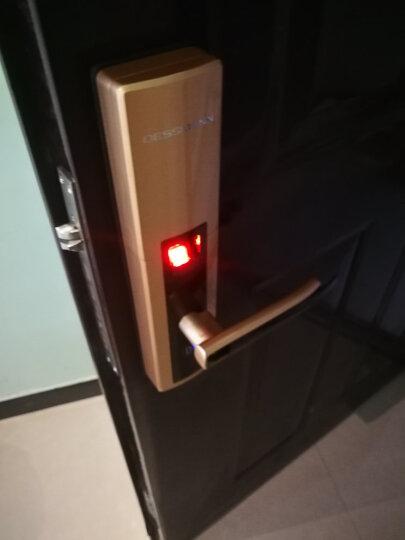 德施曼(DESSMANN)指纹锁 小嘀T510家用防盗门锁云智能锁电子锁密码锁 香槟金云智能锁+蓝牙钥匙+全国包安装 晒单图