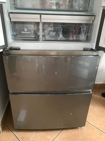 【99新】海尔 家用多门 干湿分储 变频 风冷无霜 布伦斯金 卡萨帝BCD-435WDCAU1 银色WDCSU1 晒单图