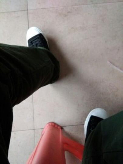 回力(Warrior)男鞋2018春夏新款休闲低帮帆布鞋纯色复古白搭男女情侣板鞋透气运动鞋学生鞋 709白色 34码 晒单图