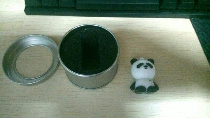 初忆(CHUYI)创意个性U盘16G32G64GB USB3.0(硅胶防水,企业logg) 小熊猫U盘 32GB USB3.0 晒单图