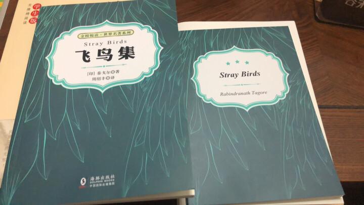 老人与海(中英双语对照版 赠纯英文版) 晒单图