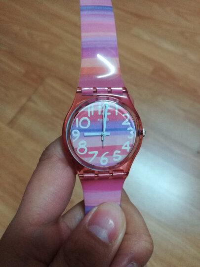 斯沃琪(Swatch)瑞士手表 原创系列落新妇 潮流时尚 石英男女表GP140 晒单图