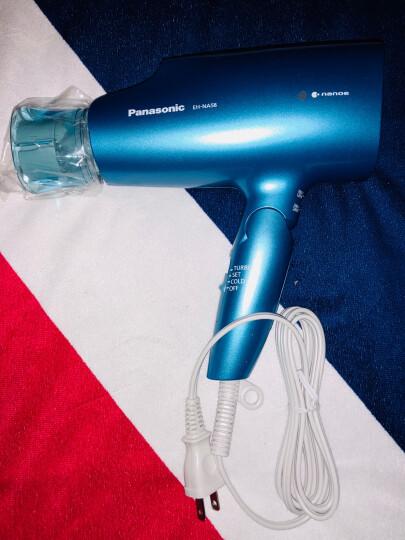 松下(Panasonic) 日本进口电吹风EH-NA5A/NA59 纳米负离子保湿吹风机 EH-NA58-A蓝色 晒单图