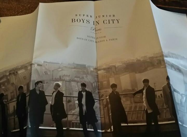 Super Junior :Boys in City Season 4Paris7周年官方散文写真集 晒单图