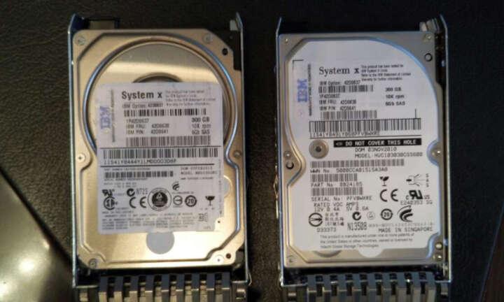 联想(Lenovo) IBM服务器硬盘 System X86 专用2.5英寸热插拔硬盘 1T 7.2K SAS 编号 81Y9690 晒单图