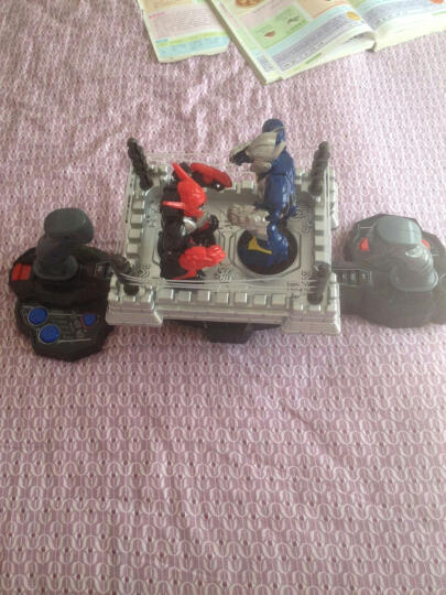 龙祥 擂台王智能对战机器人拳击格斗机器人电动遥控双人对打对战机器人亲子互动玩具礼物 擂台王对战机器人-充电版 晒单图