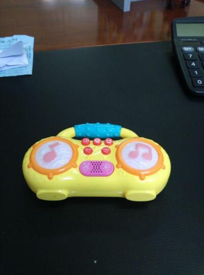 儿童早教机故事机 婴儿宝宝迷你收音机拨浪鼓系列玩具 红色音乐拨浪鼓 晒单图