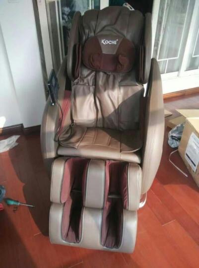 怡禾康 按摩椅YH-Z006SL家用全身电动太空舱老人按摩椅 多功能L导轨按摩沙发节日送礼 普通款-米黄色 晒单图