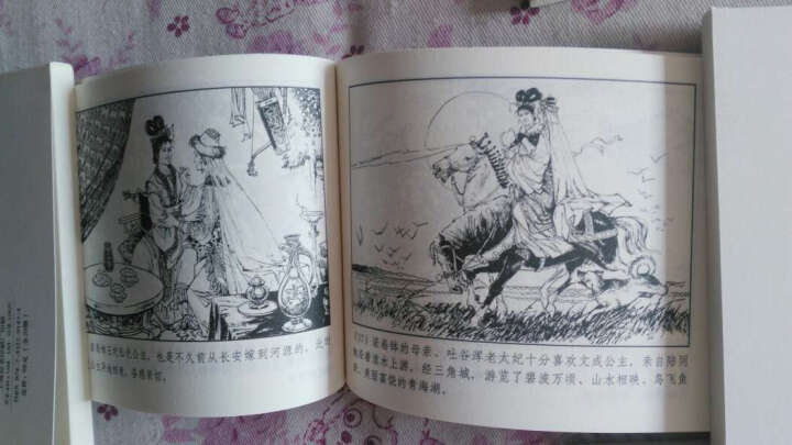中国历史人物故事-全20册-绘画本     晒单图