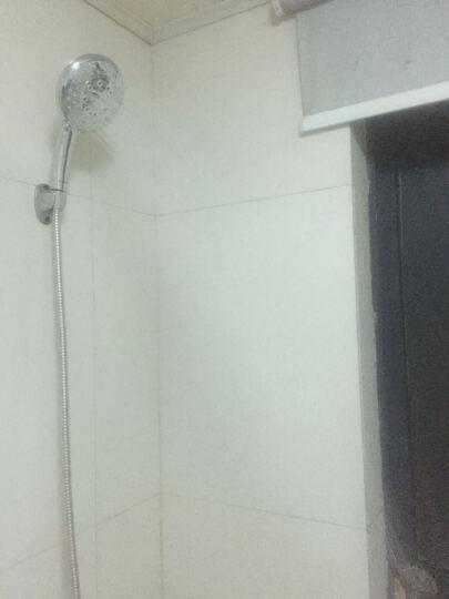 EASO英仕卫浴 大面板手持多功能淋浴单花洒喷头 洗澡喷淋头莲蓬头花洒头洗澡大头 晒单图