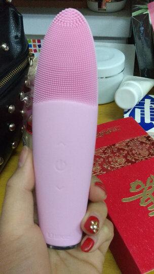 ULIKE 韩国Ulike电动洁面仪洗脸仪男女家用毛孔清洁器充电式硅胶美容洗脸刷 粉红色 晒单图
