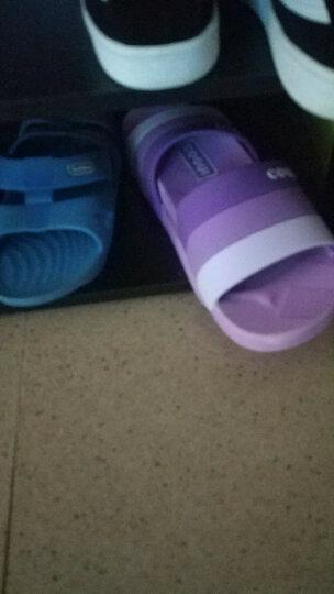 酷趣coqui 拖鞋女时尚简约家居拖沙滩浴室洗澡凉拖鞋 女款紫色38 CQ5492 晒单图