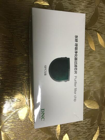 东研(DNC) K1 电动智能防护口罩滤芯 防甲醛防PM2.5 防烟除尘呼吸净化器滤芯 10片 晒单图