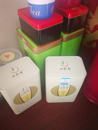 2019新茶安吉白茶明前绿茶2盒共200g一杯香茶叶绿茶珍稀黄金白茶散装礼盒装小罐 晒单图