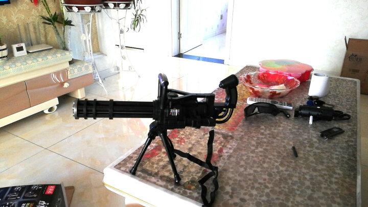 活石 电动玩具声光枪儿童冲锋枪机关枪男孩音乐枪 7-9毫米水弹(10000粒) 晒单图