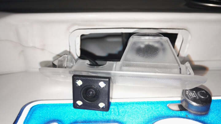 斯派德 汽车倒车摄像头高清星光夜视广角防水车载通用倒车影像后视摄像头 比亚迪F3 比亚迪F6 比亚迪L3 比亚迪S6 晒单图