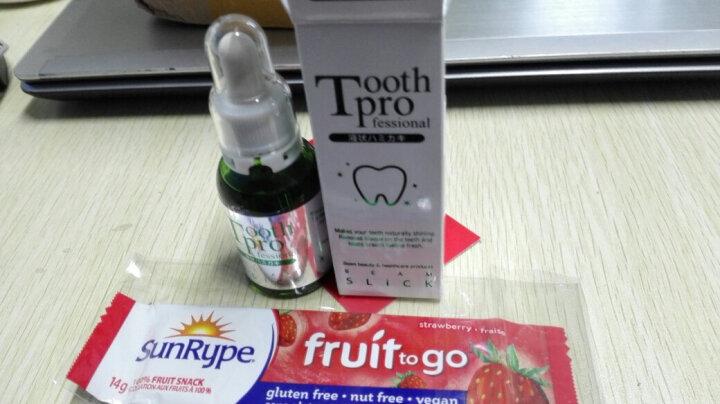 日本TOOTH PRO快速牙齿美白液去黄去黑去牙渍咖啡烟渍清新口气不伤牙齿SAKURA LOVE樱爱 晒单图
