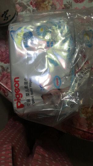 贝亲(Pigeon)婴儿柔湿巾 湿纸巾 80片装(3包)PL226 晒单图
