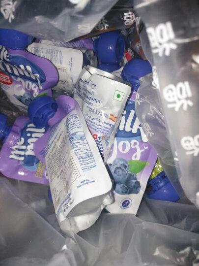 美妙可(me milk) 西班牙进口菠萝芒果味常温酸奶90g*3婴幼儿吸吸乐memilk宝宝零食儿童酸奶精致品味 经典装 晒单图