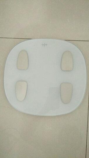 乐心(lifesense)智能体脂秤 电子秤 体重秤 人体秤 微信互联 蓝牙APP控制 白色 晒单图