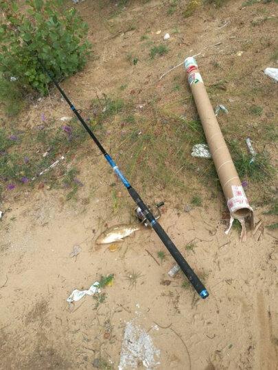 光威(GW) 鱼竿海竿套装3.6米远投竿碳素超硬海杆2.4 2.7米抛竿海钓鱼竿特价渔具 浦舟二代2.1+光威11轴4000轮+配件 轮免费维修 晒单图