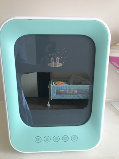 MAIJI奶瓶消毒器带烘干紫外线消毒柜婴儿消毒锅宝宝玩具内衣杀菌收纳 蓝色双灯管加强型 晒单图