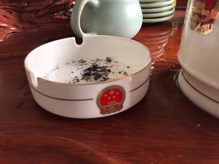 景德镇骨瓷茶杯套装 烟灰缸 咖啡杯 笔筒 水杯 可印各种 LOGOSN7537 国徽小烟缸 晒单图