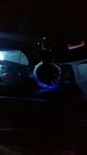 尚浩 车载烟灰缸带LED灯 发光亮光 车型通用 办公桌 汽车烟灰缸 带出风口架 内饰用品 现代名图途胜悦动朗动IX35索塔纳 晒单图
