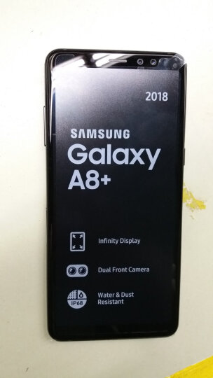 三星(SAMSUNG) Galaxy A8(2018)首款前置双摄像头 智能手机 金色 16GB 晒单图