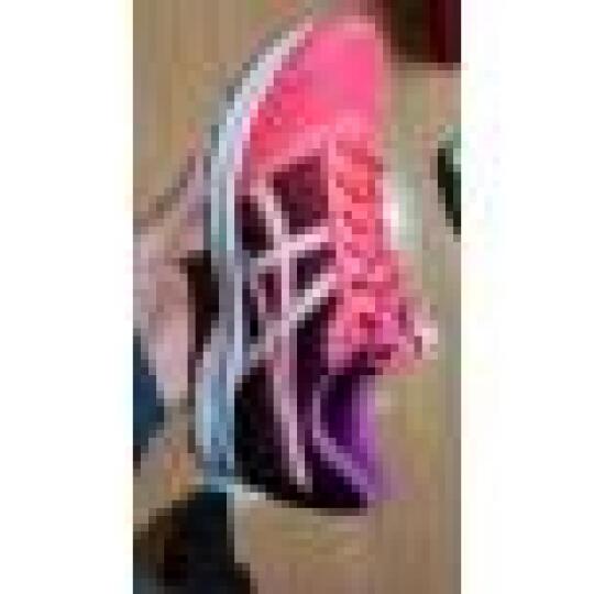亚瑟士ASICS 缓冲跑鞋 透气跑步鞋 女运动鞋 PATRIOT 8 T669N-2001 粉色/白色/淡紫色 37.0码 晒单图
