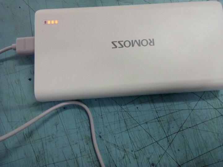 罗马仕(ROMOSS)sense6加量版超智能快充移动电源2充电宝20000毫安白色 双输出适用于苹果安卓手机平板 晒单图