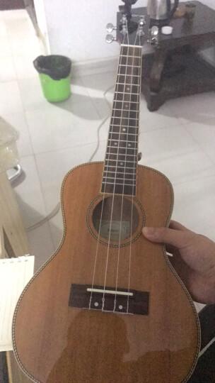 totoro 【免费刻字】尤克里里23寸乌克丽丽小吉他ukulele初学者成人吉他儿童 23寸桃花芯亮光-升级款 晒单图