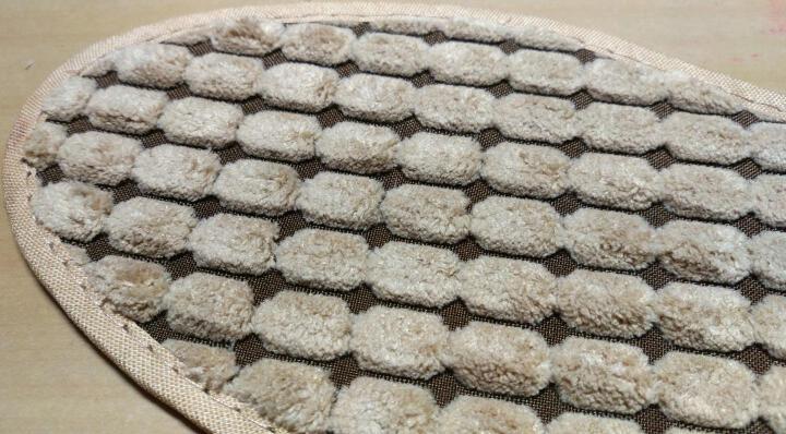 步云防臭鞋垫男冬季保暖按摩功能女加绒加厚 1206(1双装) 40码 晒单图