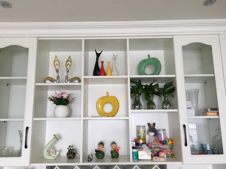 恒瓷美 【平平安安】家居装饰品苹果陶瓷工艺品摆件/厂家直销 五色可选 黄色 晒单图