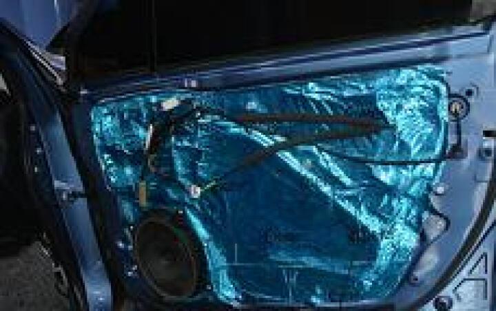 汽车隔音材料隔音止震板环保隔音材料丁基胶隔音材料 四门隔音尾箱隔音地板隔音叶子板隔音-贝尔隔音蓝膜 单张蓝膜材料 晒单图
