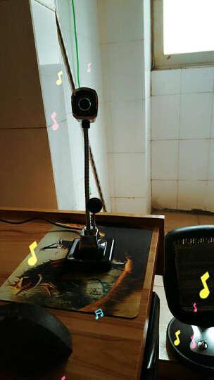 炫光M800高清夜视免驱高清笔记本台式电脑摄像头 带麦克风QQ视频语音YY黑 晒单图