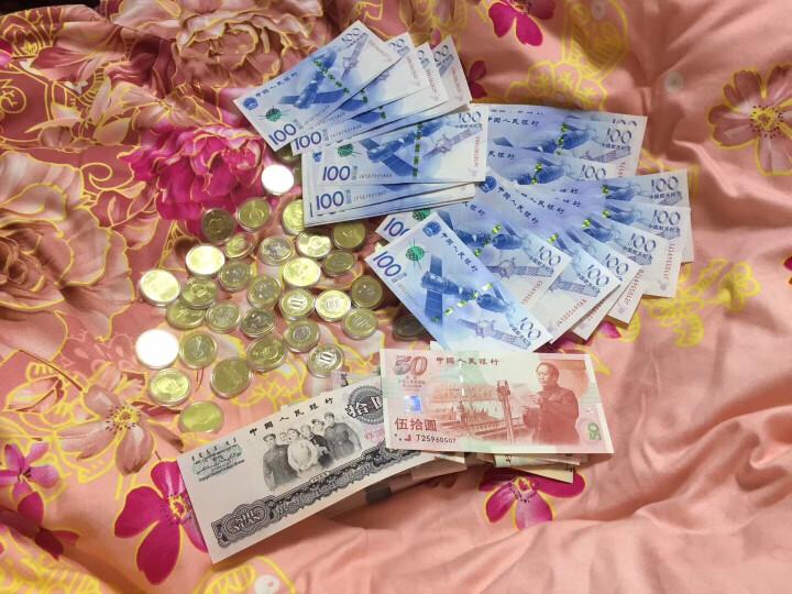 中邮典藏 2015年中国航天钞 航天纪念钞 纪念币 单张 十连号 百连号 邮币 航天钞 单张 晒单图