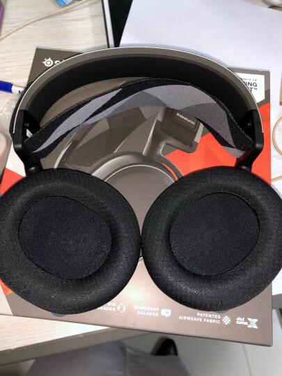 赛睿(SteelSeries) Arctis 寒冰 专业电竞游戏耳机耳麦7.1 指向级麦克风 吃鸡 Arctis 7 寒冰 7(无线新旗舰) 黑色 晒单图