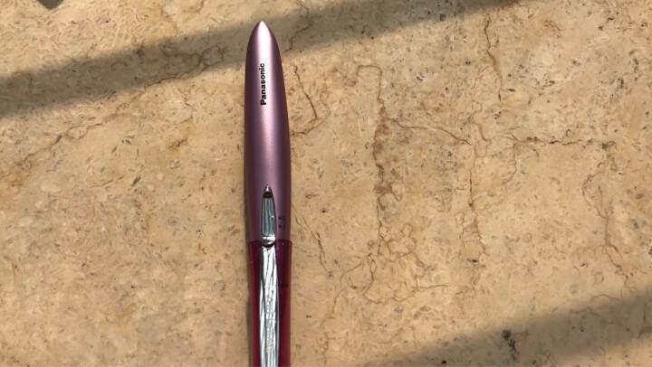 松下(panasonic) ES2113美容修剪神器松下 电动修眉刀 刮眉刀 剃毛器 高贵粉 晒单图