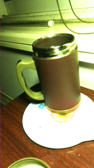 富光 茗派生态紫砂办公杯FGK-2049不锈钢外壳 紫砂内胆礼盒装杯子 400ml水杯 紫砂色 晒单图