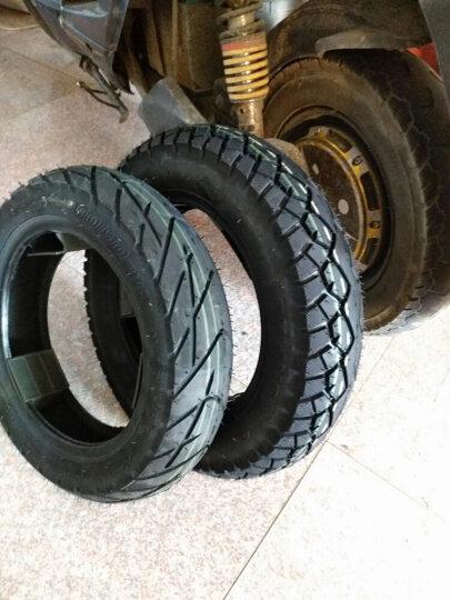千里马电动车3.00-10钢丝真空轮胎300-10踏板车3.50-10 3.00-10花纹570 真空胎6层级+送气嘴 晒单图