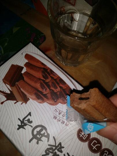 真巧 零食 饼干蛋糕 巧克力酱心牛奶饼干 360g/袋 晒单图