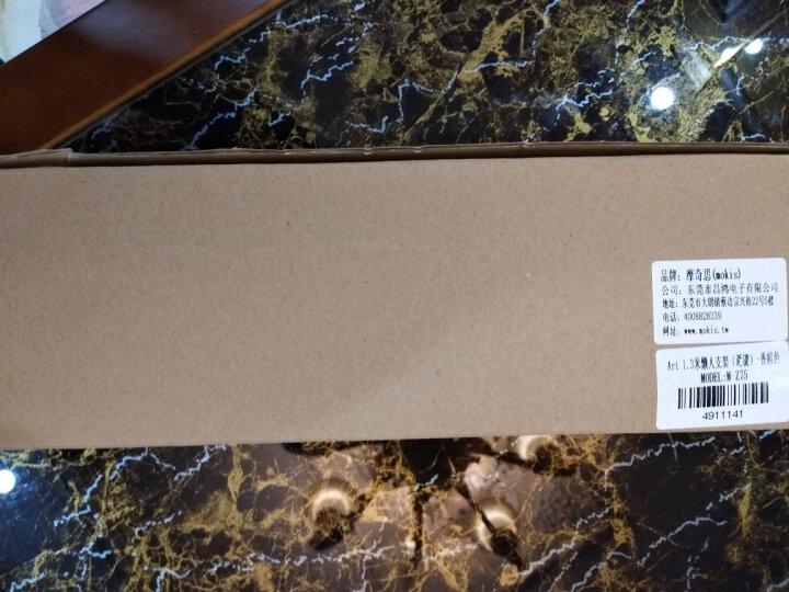 摩奇思(mokis)多功能手机支架 铝合金夹式适用于车载/书桌手机平板通用 黑色 晒单图