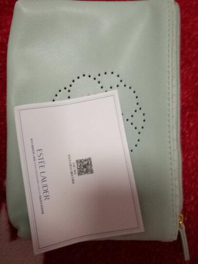 雅诗兰黛(Estee Lauder) 美妆工具 化妆包 套装拆售 藏蓝大包内豹纹 底部宽约21cm 晒单图