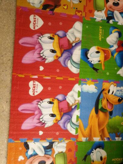 Disney迪士尼宝宝拼图地垫儿童加厚2CM泡沫婴儿游戏垫装饰垫子保护垫 米奇飞行棋78*78*0.3cm送棋子 晒单图